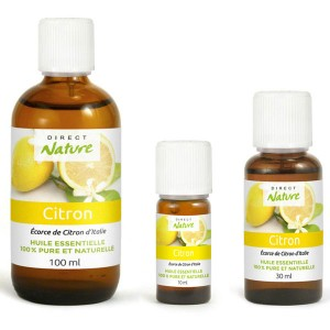 Essential oil of Lemon
