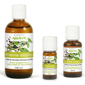 Essential oil of exotic Verbena