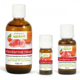 Essential oil of red Mandarin