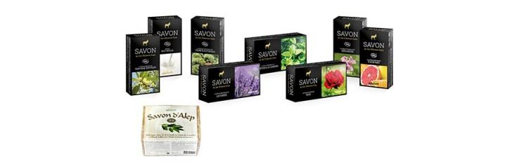 Organic and natural soaps